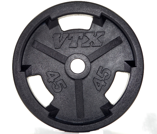 Troy Weight Tree: 300 Lb. Troy VTX RUBBER Grip Weight Set