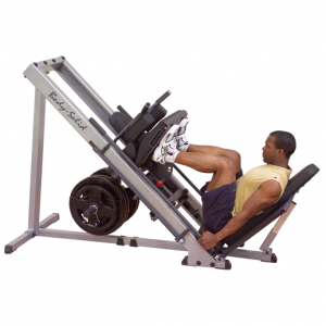 Body Solid Leg Press / Hack Squat - GLPH1100 - side view