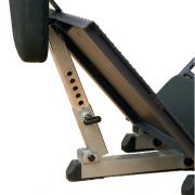 Body Solid Leg Press / Hack Squat - GLPH1100 - squat foot plate adjustment