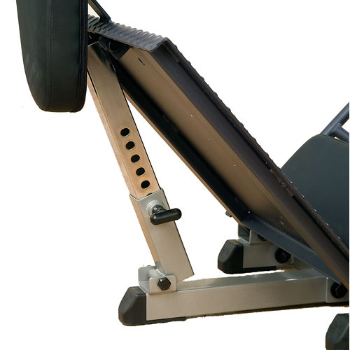 Body Solid Leg Press / Hack Squat - GLPH1100 - squat foot plate adjustment