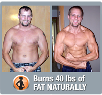 Burns 40 lbs of fat naturally