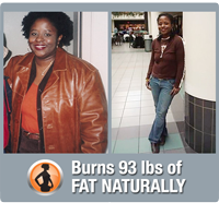 Evelyn burns 93 lbs of fat naturally