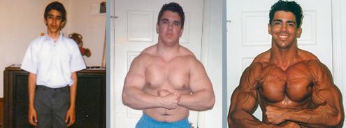 Francesco's natural fitness transformation