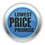 IncrediBody lowest price promise logo
