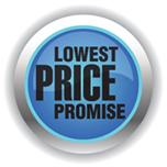 IncrediBody lowest price promise logo