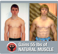 Natural muscle building photo of JC