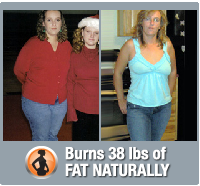 Jennie burns 38 lbs of fat naturally