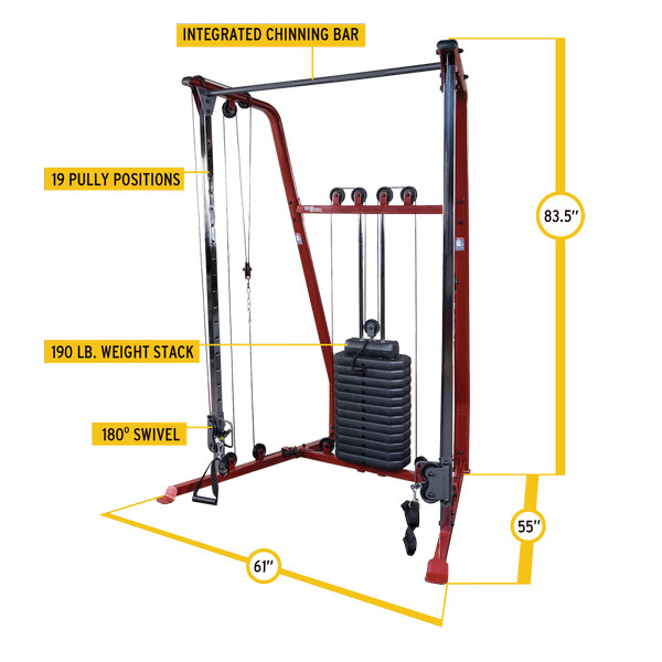Best Fitness Functional Trainer [BFFT10]