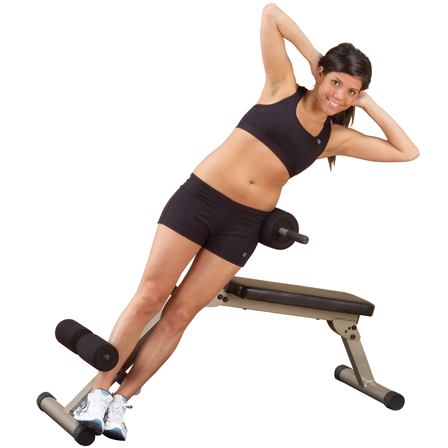 Best Fitness Ab Board / Hyperextension BFHYP10 - side crunches