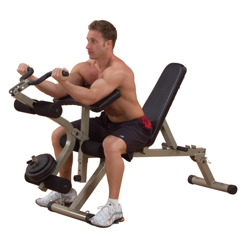 Best Fitness Leg Developer / Preacher Curl Attachment BFPL10 - biceps