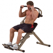 Best Fitness Semi-Recumbent Ab Bench BFAB20 - demo