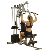 Best Fitness Sportsman Gym 20 [BFMG20] - lat pulldown