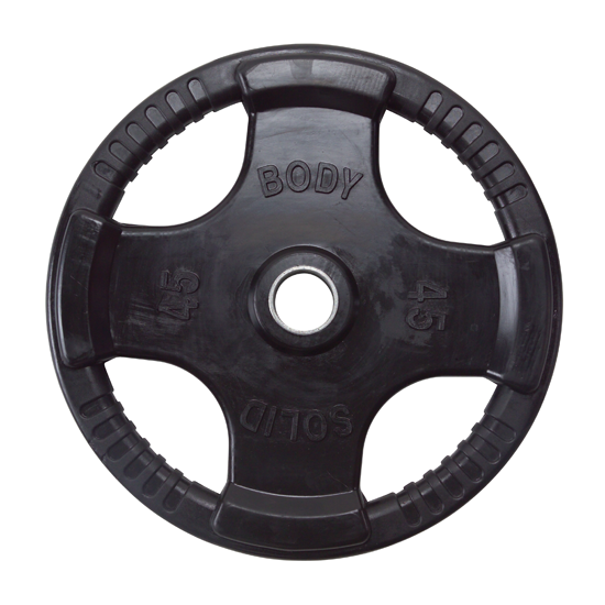 Body-Solid 255 Pound Rubber Grip Olympic Weight Set [ORST255]