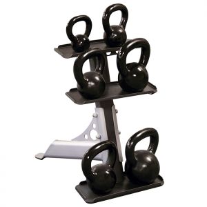 Body-Solid 3 Pair Kettlebell Rack [GDKR50]