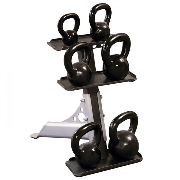 Body-Solid 3 Pair Kettlebell Rack [GDKR50]