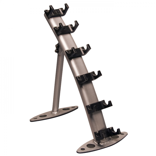 Body-Solid 3 Pair Vinyl Dumbbell Rack [GDR10]