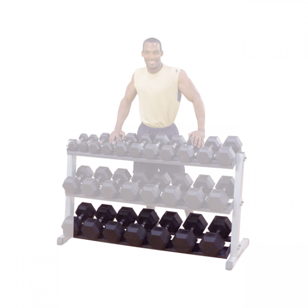 Body-Solid 3rd Tier for GDR60 Dumbbell Rack [GDRT6]