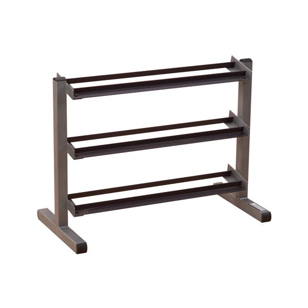 Body-Solid 40 Inch Wide 3 Tier Dumbbell Rack [GDR363]
