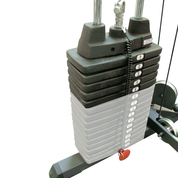 Body-Solid 50 Pound Weight Stack For Home Gyms [SP50]
