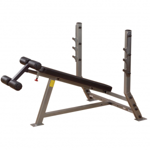 Body-Solid Decline Olympic Bench SDB351G - side view