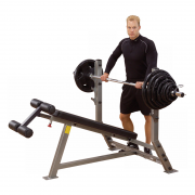 Body-Solid Decline Olympic Bench SDB351G - lower chest