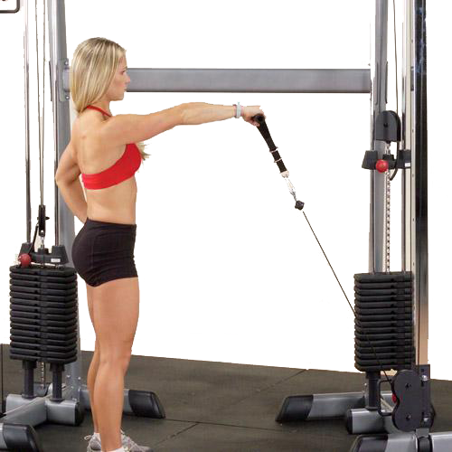 Body Solid Functional Training Center 200 GDCC200 - front raises
