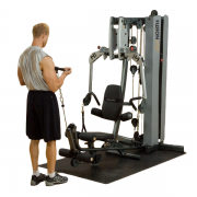 Body-Solid Fusion 400 Personal Trainer [F400C] - biceps curl