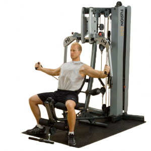 Body-Solid Fusion 400 Personal Trainer [F400C] - cable chest flies