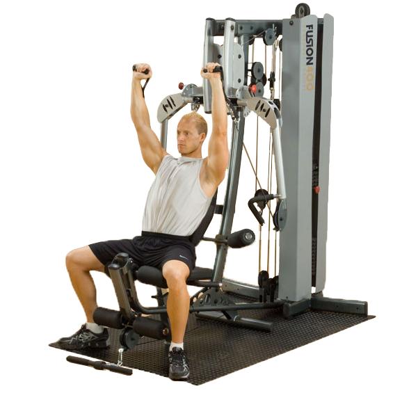Body-Solid Fusion 400 Personal Trainer [F400C] - shoulder press