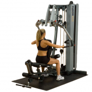Body-Solid Fusion 400 Personal Trainer [F400C] - seated row
