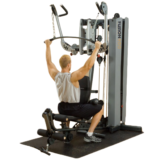 Body-Solid Fusion 400 Personal Trainer [F400C] - lat pulldown