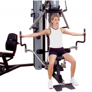 Body-Solid G10B Bi-Angular Home Gym - pec flies