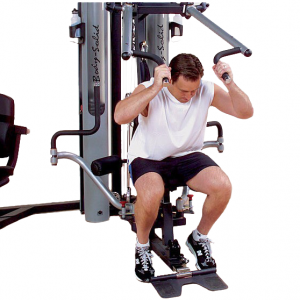 Body-Solid G10B Bi-Angular Home Gym - shoulder press