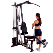 Body-Solid G1S Selectorized Gym - leg curl