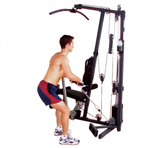Body-Solid G1S Selectorized Gym - rows