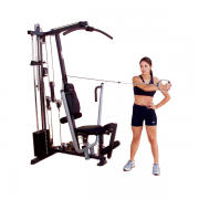 Body-Solid G1S Selectorized Gym - shoulder muscles