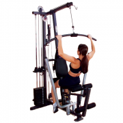 Body-Solid G1S Selectorized Gym - lat pulldown