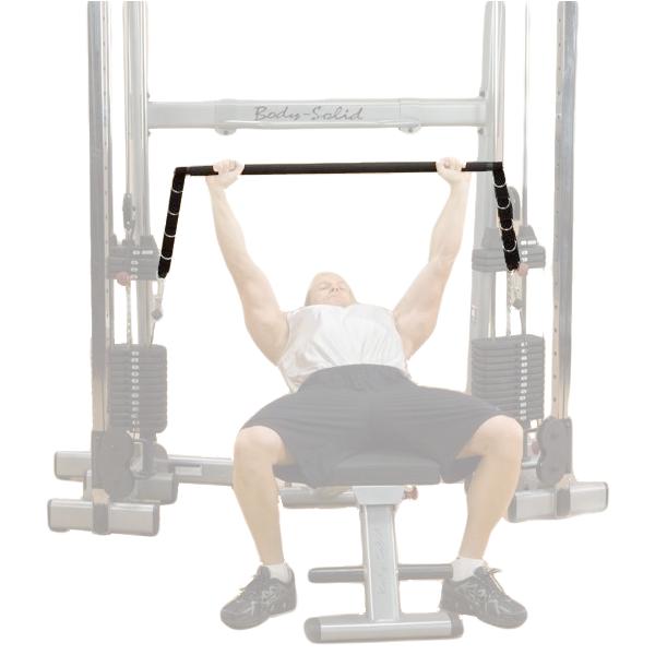 Body-Solid GDCC Bar Attachment [GDCCBAR] - bench press
