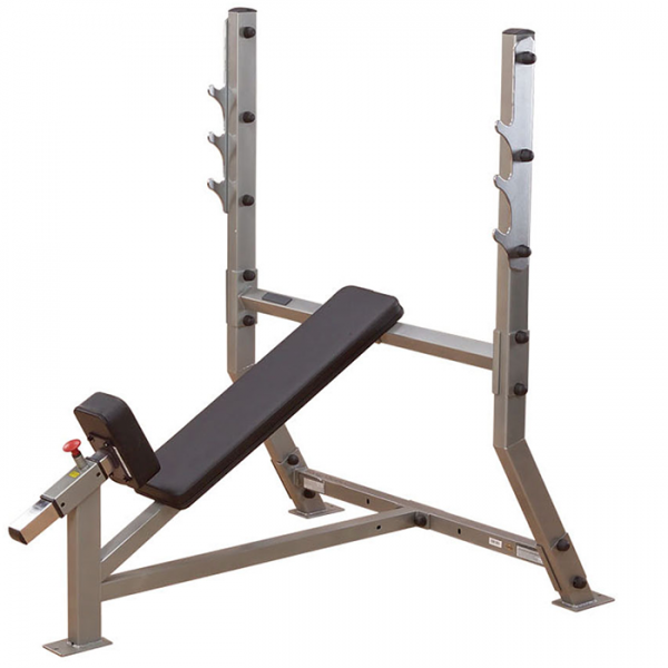 Body-Solid Incline Olympic Bench SIB359G - side view
