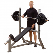 Body-Solid Incline Olympic Bench SIB359G - train upper chest muscles