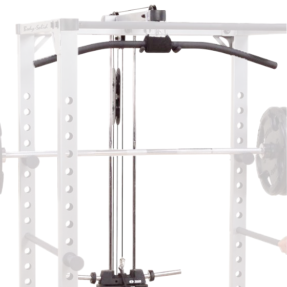Body-Solid Lat Attachment for Pro Power Rack [GLA378]