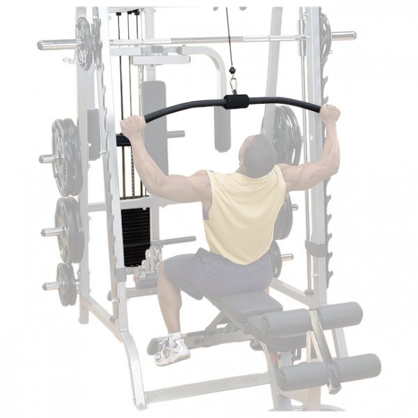 Body-Solid Lat Attachment for GS348Q Smith Machine [GLA348QS]