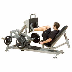 Body-Solid Leverage Horizontal Leg Press LVLP demo