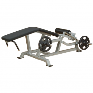 Body-Solid Leverage Leg Curl LVLC - side view