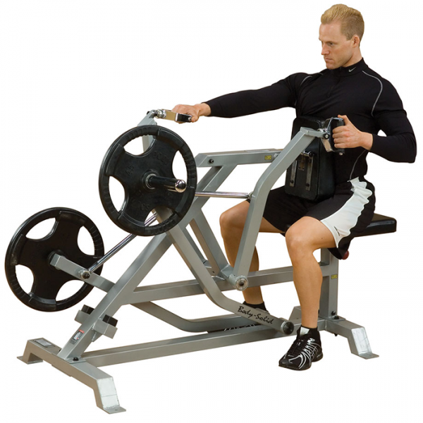 Body Solid Leverage Seated Row LVSR demo