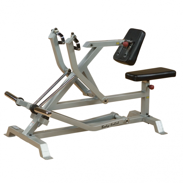 Body Solid Leverage Seated Row LVSR side view