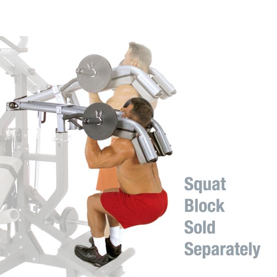 Body-Solid Leverage Squat Attachment [LSA50]