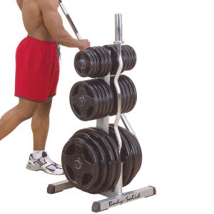 Body-Solid Olympic Weight Tree / Bar Rack [GOWT]