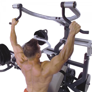 Body-Solid Powerlift Freeweight Leverage Gym SBL460P4 - lat pulldown