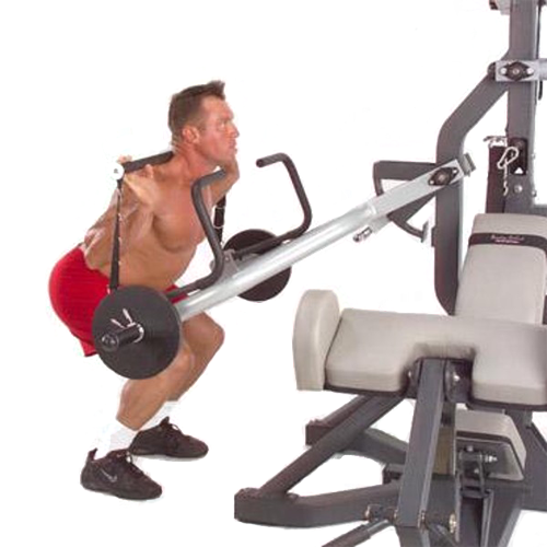 Body-Solid Powerlift Freeweight Leverage Gym SBL460P4 - squats